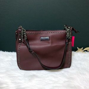 ● Nikky Eoe Satchel Bag ● Wine ●
